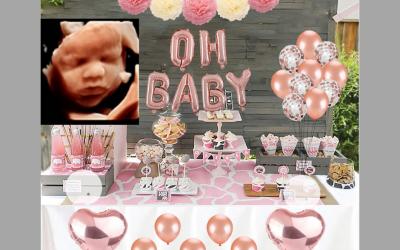 """Un """"Baby Shower"""" con ecografía 5D en directo"""